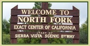 Center Of California Sign
